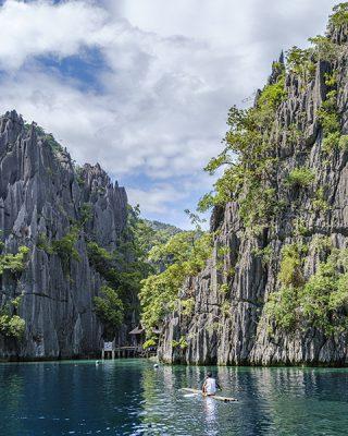 Laguna Kembar atau Twin Lagoon (Foto: Ari Amphibia)