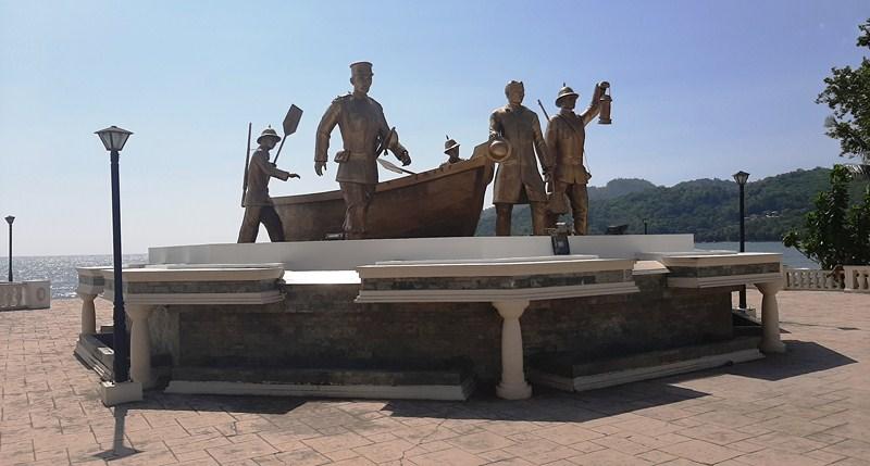 Punto del Desembarco de Rizal en Dapitan
