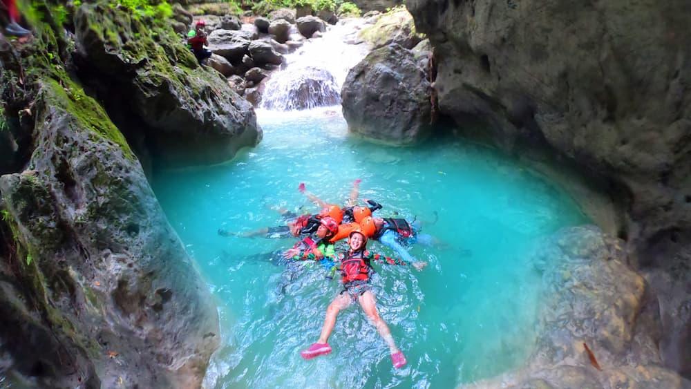 Canyoneering in Southern Cebu