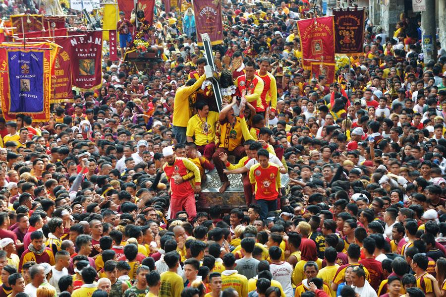 """Feast of Black Nazarene (Quiapo, Manila) January 9"""